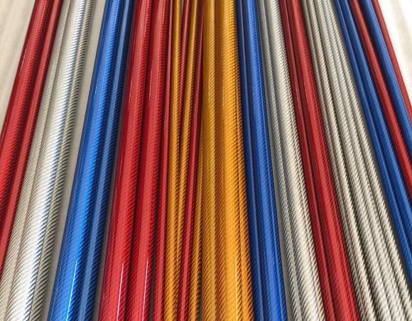 碳纤维管材